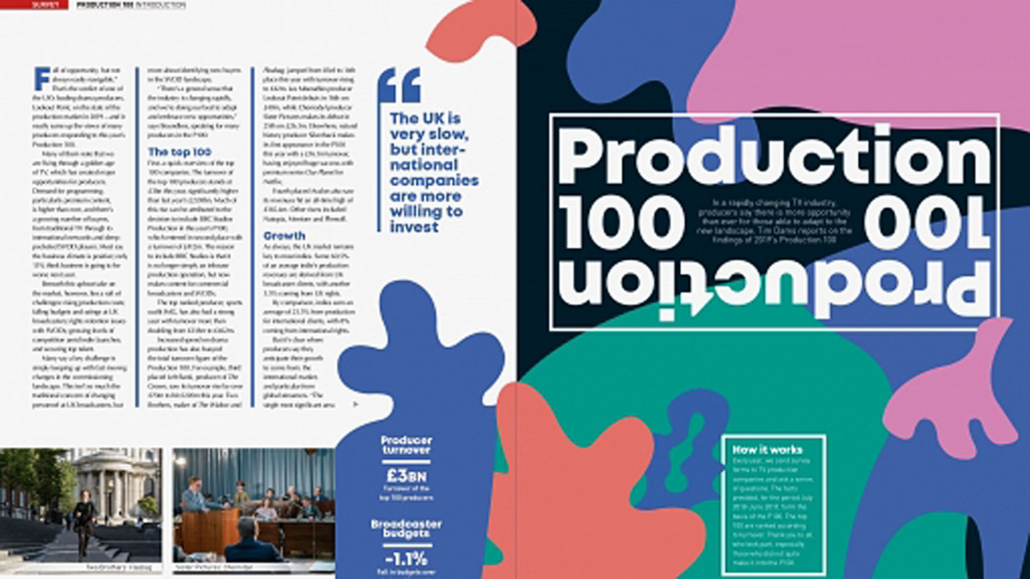 Televisual Production 100: results now published