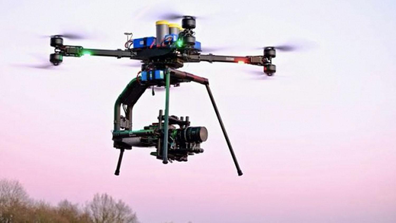 HFS flies Venice, Fujinon Premista 28-100 Zoom on drone