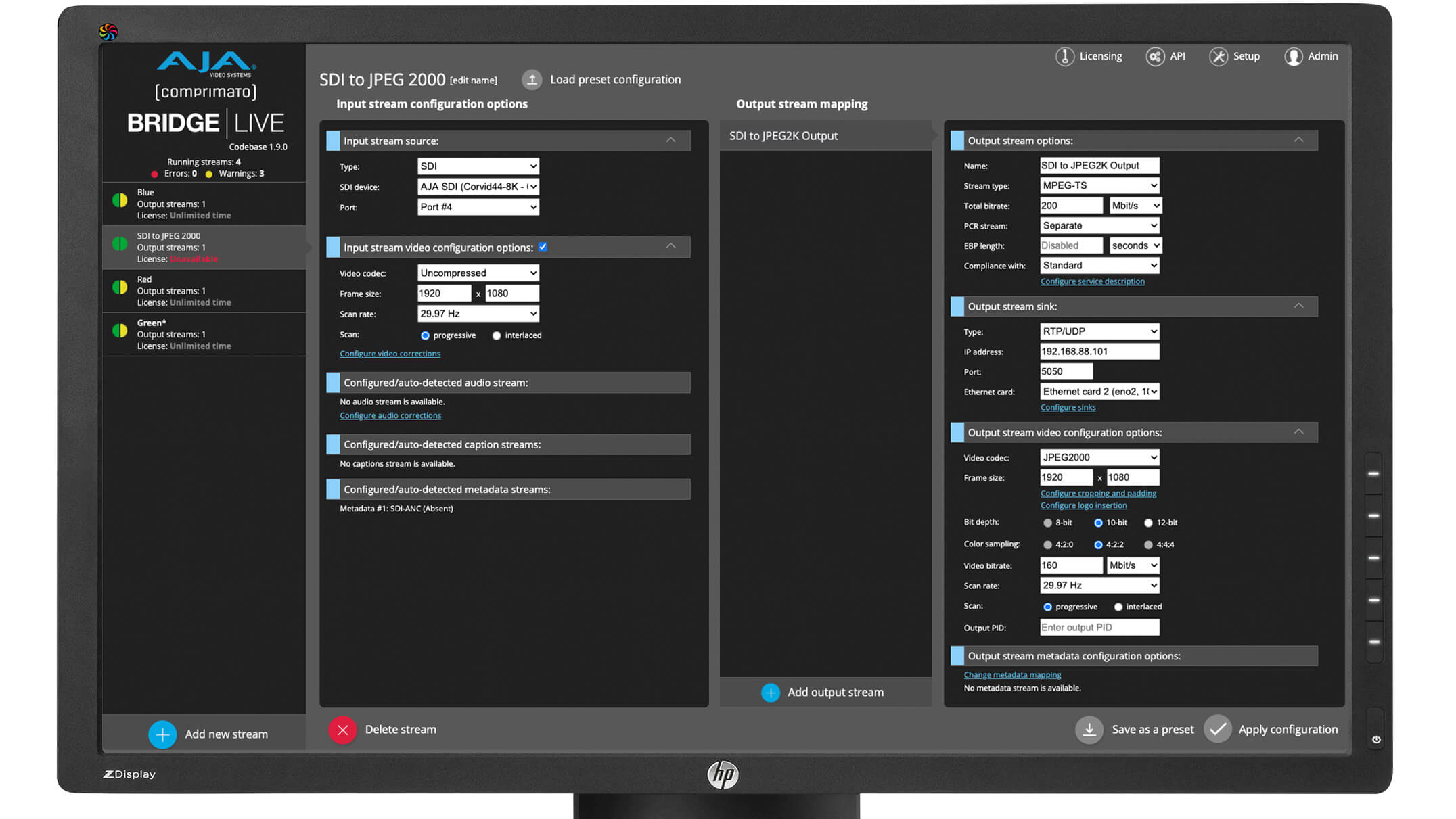 AJA Introduces New Streaming, IP, 12G-SDI,  Scan Conversion Solutions, and Updates