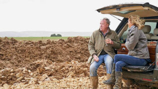 Clarkson heads back to the farm for Amazon