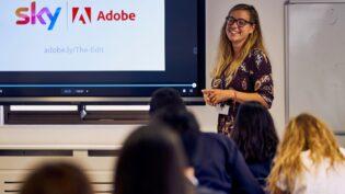 Sky, Adobe launch media training scheme for schools