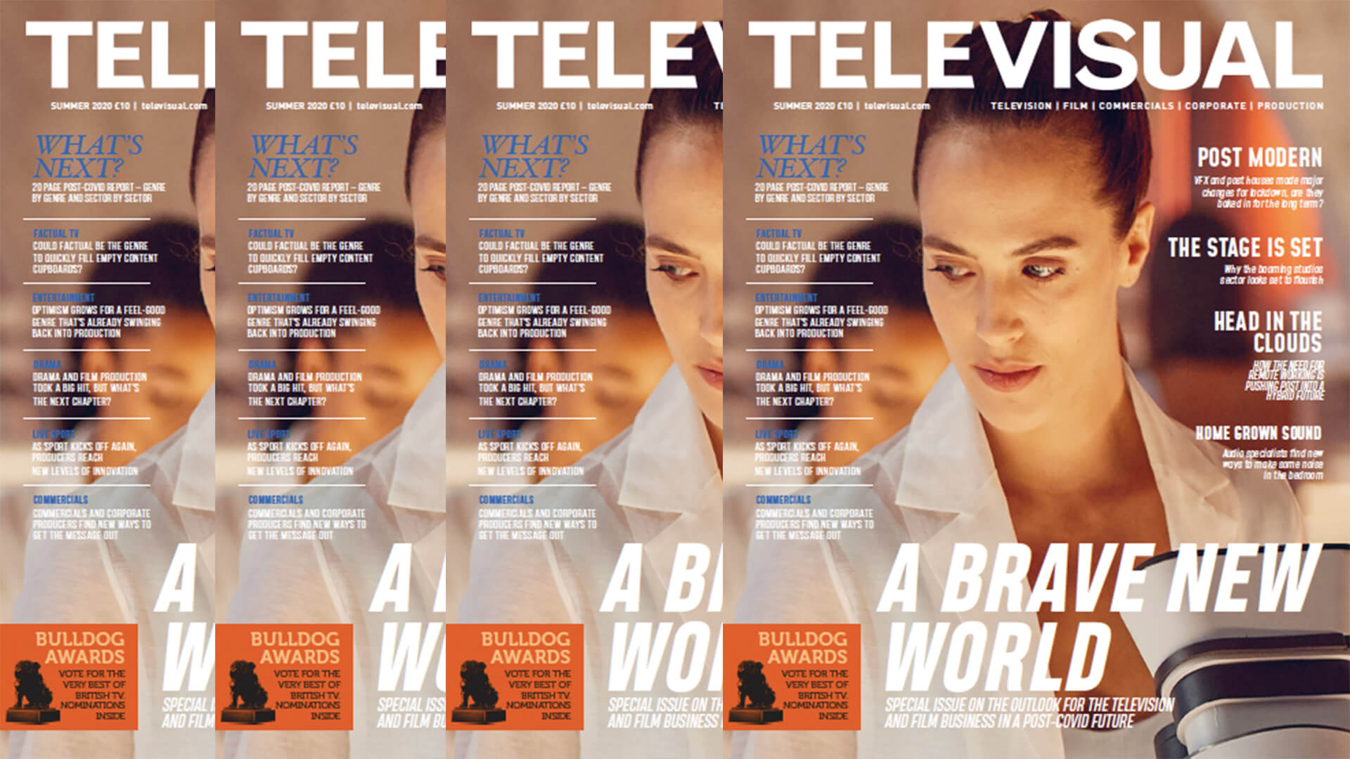 Televisual Summer issue out now - free download