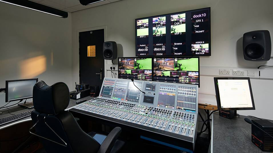 dock10 adds audio console to remote gallery