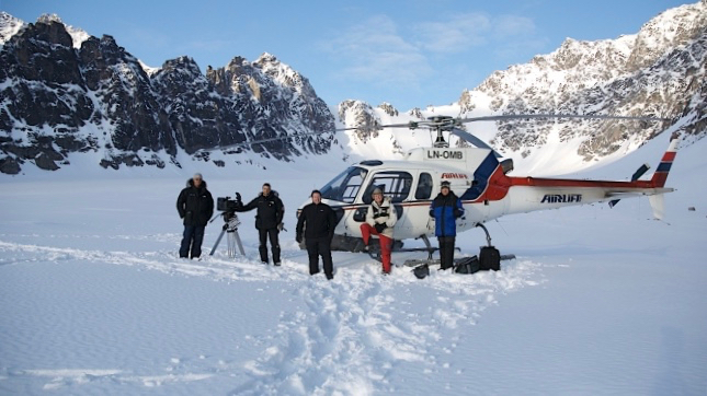 Helicopter Film Services introduces COVID safe measures
