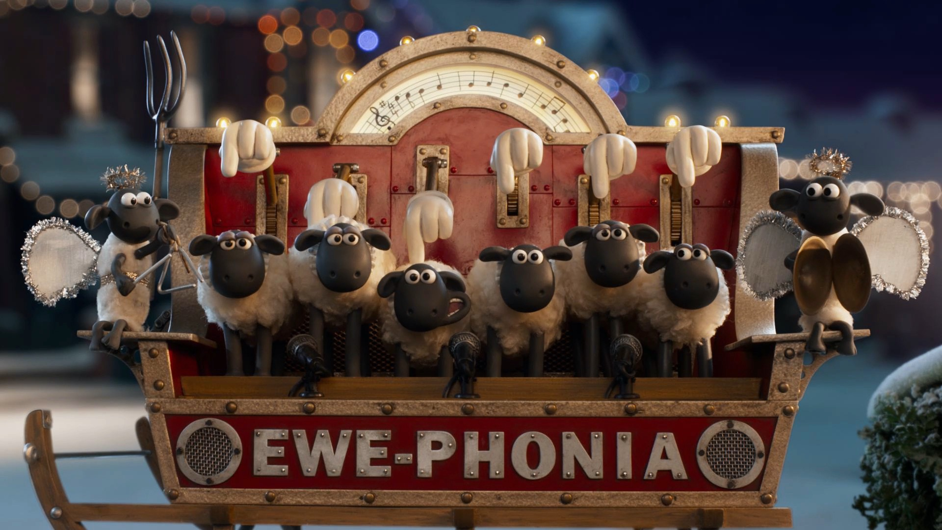 Aardman's Wallace and Gromit star in DFS Xmas ad