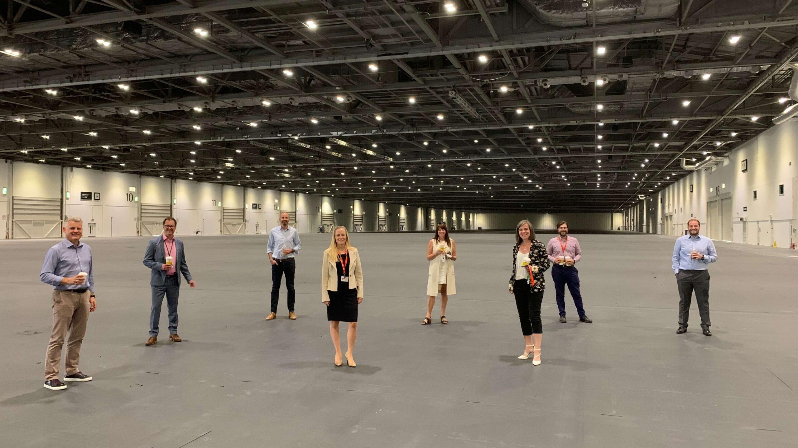 ExCel London opens as studio space until April 2021