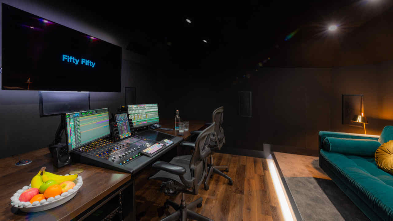 Fifty Fifty unveils its first Atmos suite