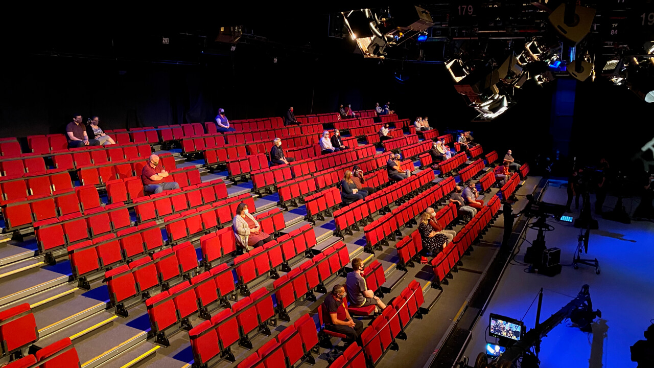 First audiences return to Television Centre