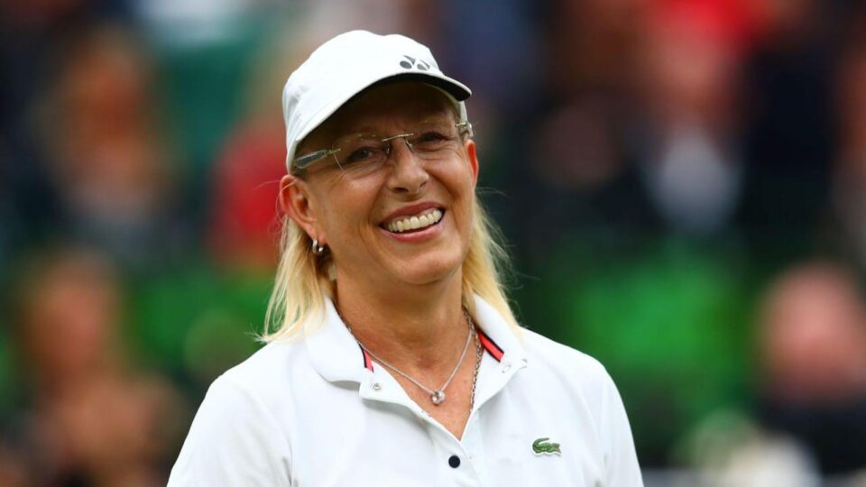 Martina Navratilova to exec women's tennis doc