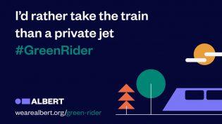 Albert launches 'Green Rider' initiative