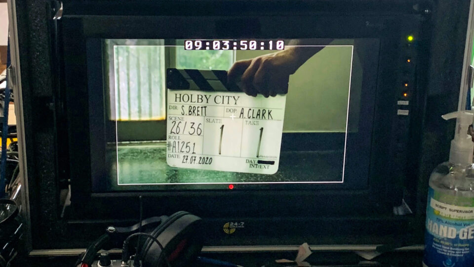 Filming restarts on Holby City