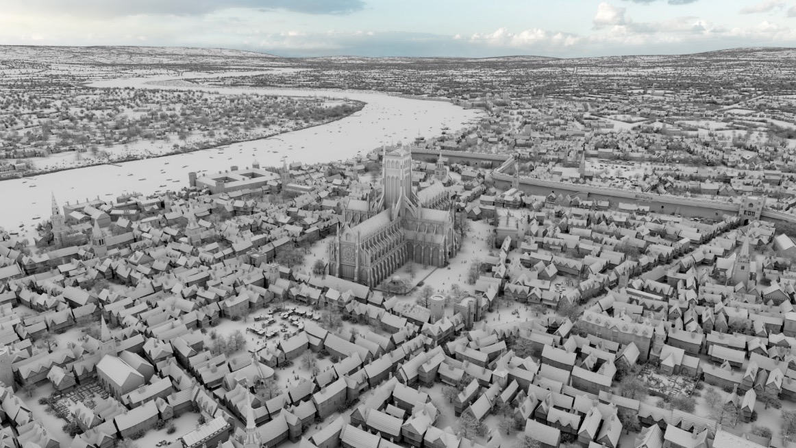 How Axis recreated Elizabethan London for Sky One