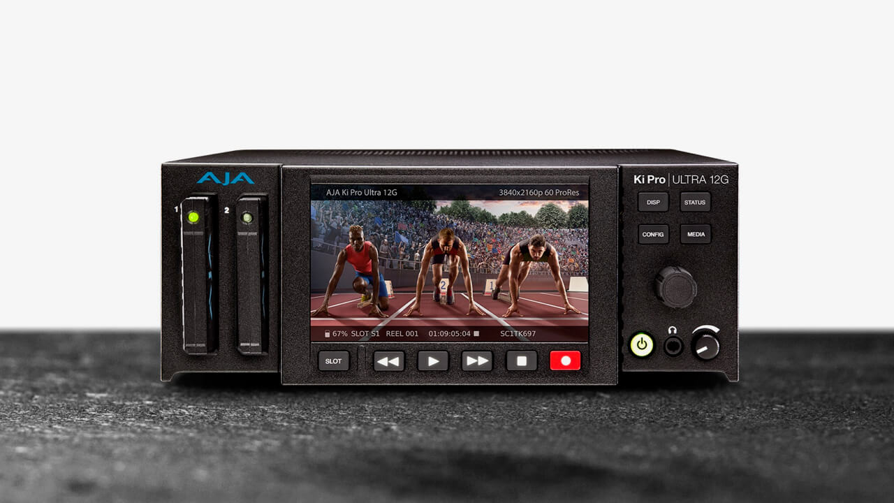 AJA adds Ki Pro Ultra 12G recorder, player