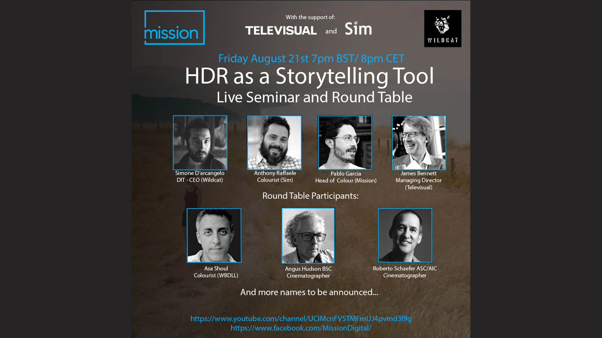 Live seminar Friday on HDR as a storytelling tool