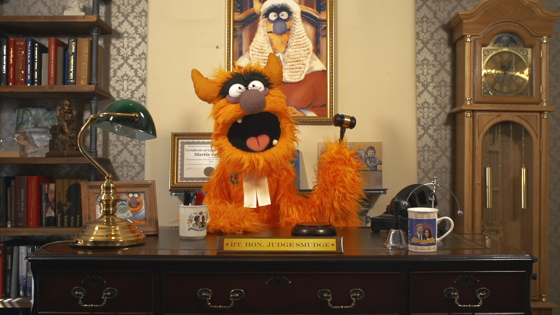 DLT goes to Monster Court for CBBC