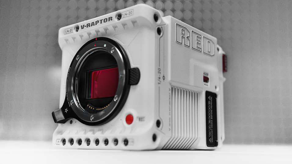 RED unveils the new V-RAPTOR 8K VV