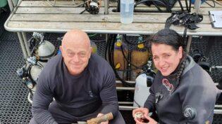 Ross Kemp explores shipwrecks for A+E