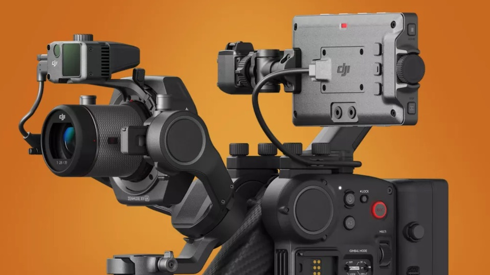DJI launches cinematography system