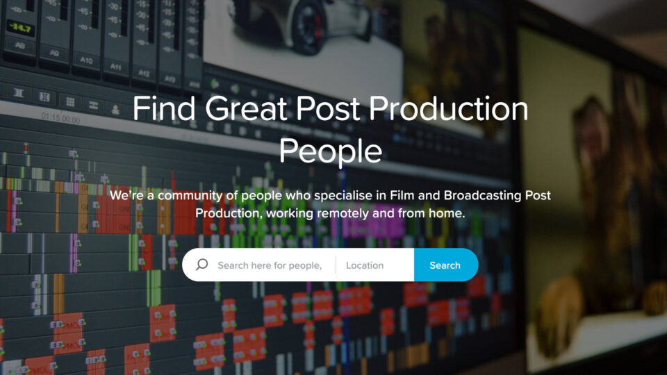 Online market for high end remote post talent launches
