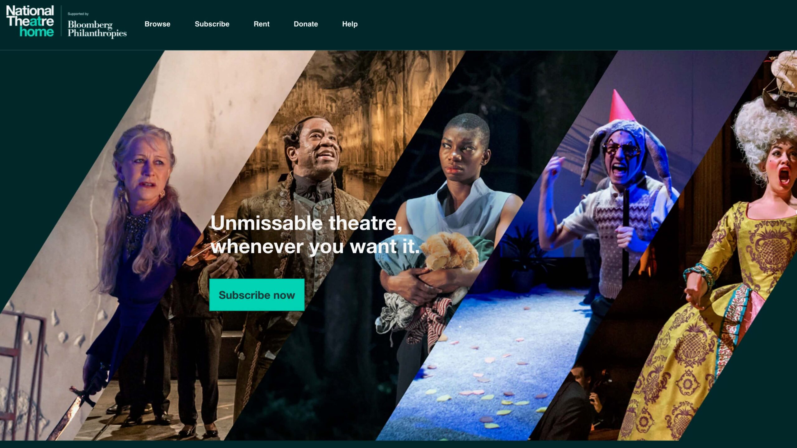 National Theatre launches streaming service