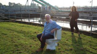Tern heads to the sewage farm for BBC's Horizon