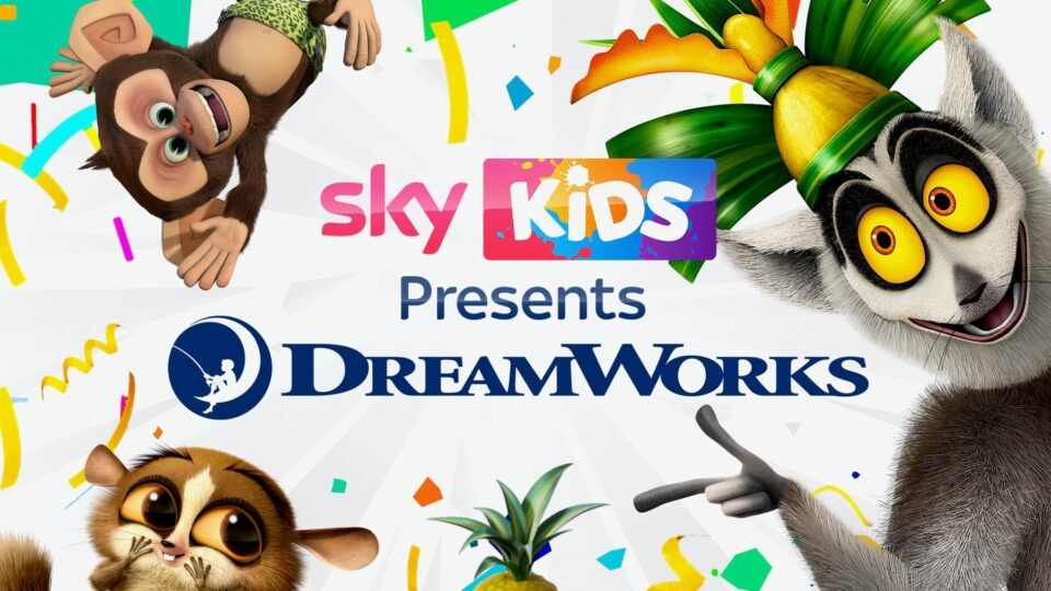 Sky and Dreamworks ink content partnership