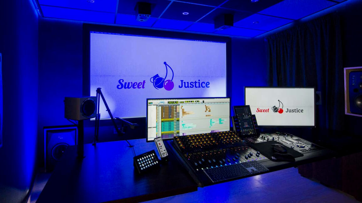 Sweet Justice gets UK's first Avid S4 install