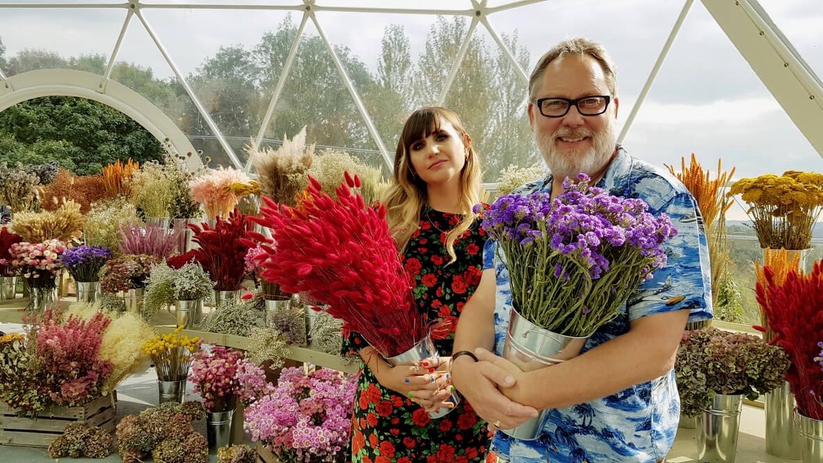 Vic Reeves, Natasia Demetriou host Netflix flower fight
