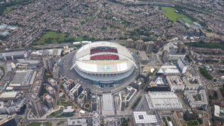 Euro 2020- the view from above